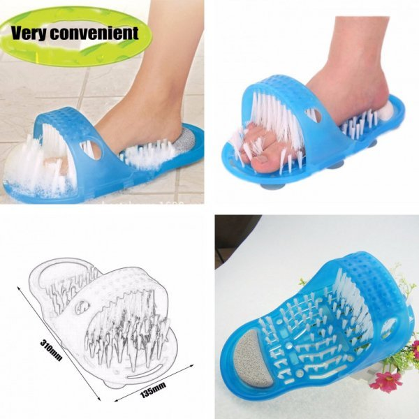 Щетка для мытья ног YANQINA