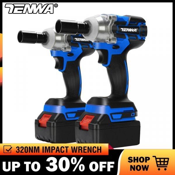 Ударный гаечный ключ от TENWA (4 комплектации)