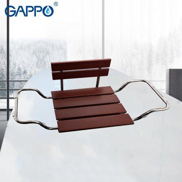 Крепкое сиденье на ванну GAPPO (2 вида, 2 цвета)