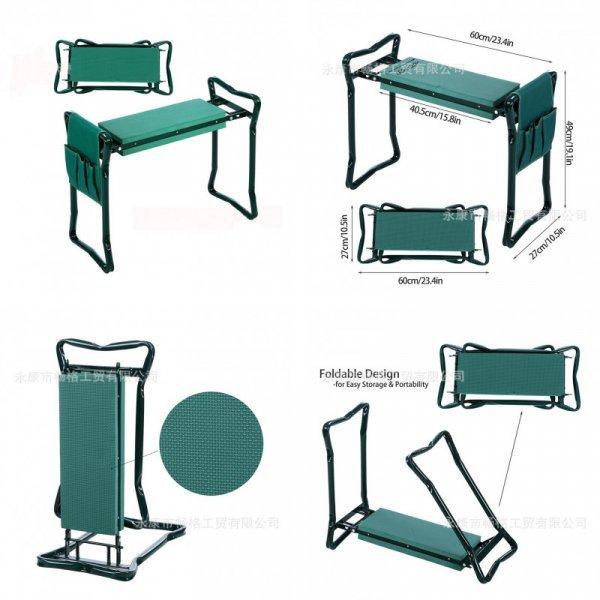 Скамейка-перевертыш для грядок (60*27*49 см)