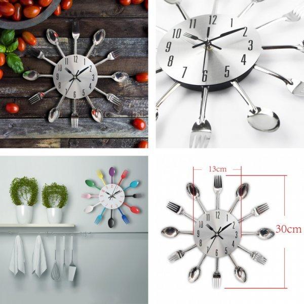 Часы на кухню (5 цветов)