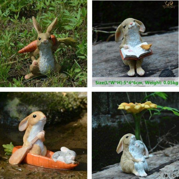 Коллекция садовых заек