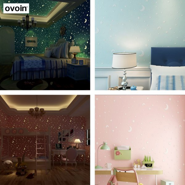 Люминесцентные обои от OVOIN (2 цвета)