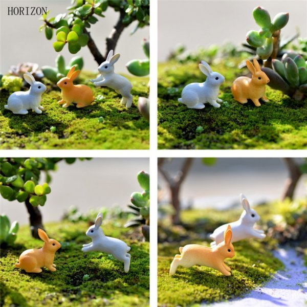 Забавные садовые фигурки из полистоуна Horizon (2 шт)