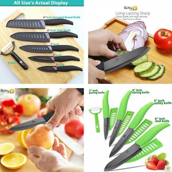 Набор керамических ножей от MYVIT (3 комплектации)