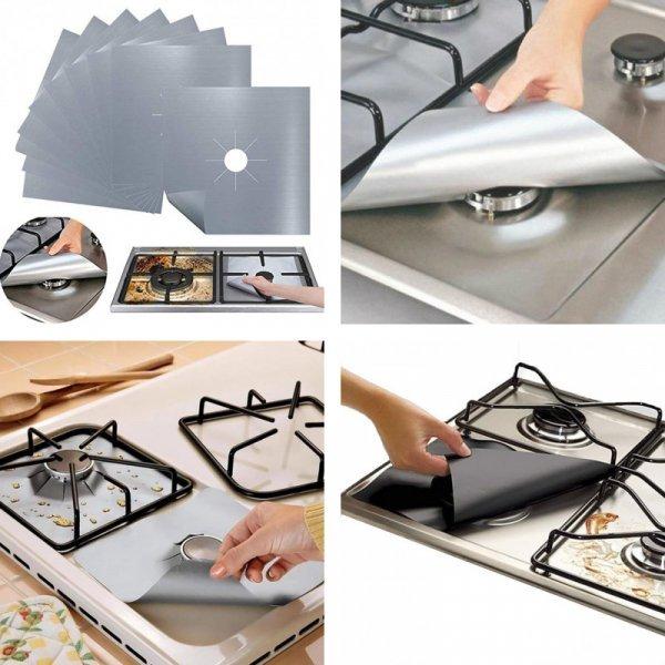 Протектор для плиты, защита от жира и грязи