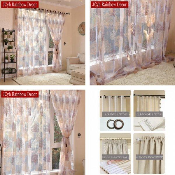 Занавески для гостинной и спальни от JCyh Rainbow Decor