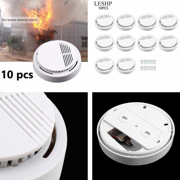 Набор датчиков пожарной сигнализации для дома LESHP (10 шт)