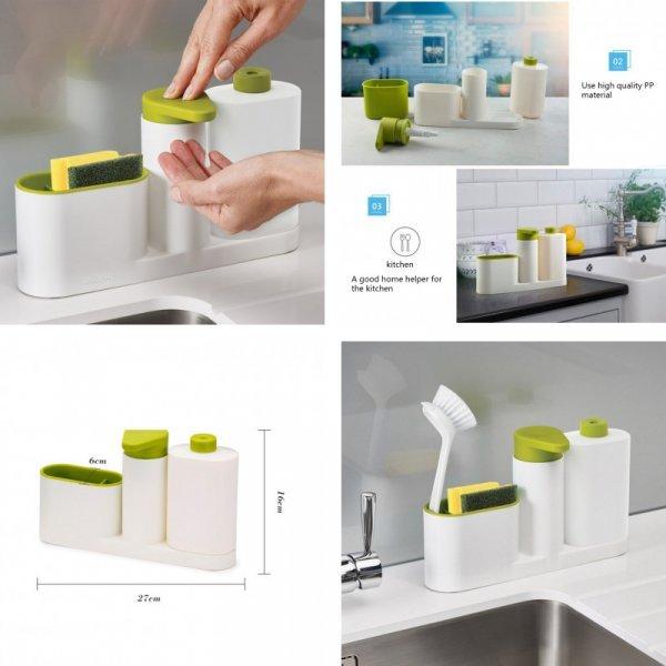 Дозатор для мыла с органайзером