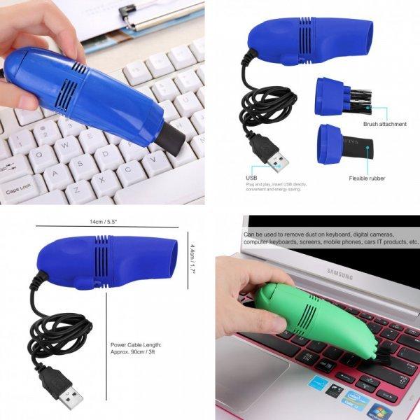 Очиститель клавиатуры Powstro с USB (3 цвета)