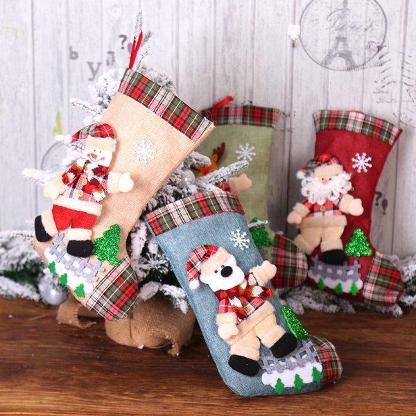 Рождественский носок от HOUHOM (36 видов)