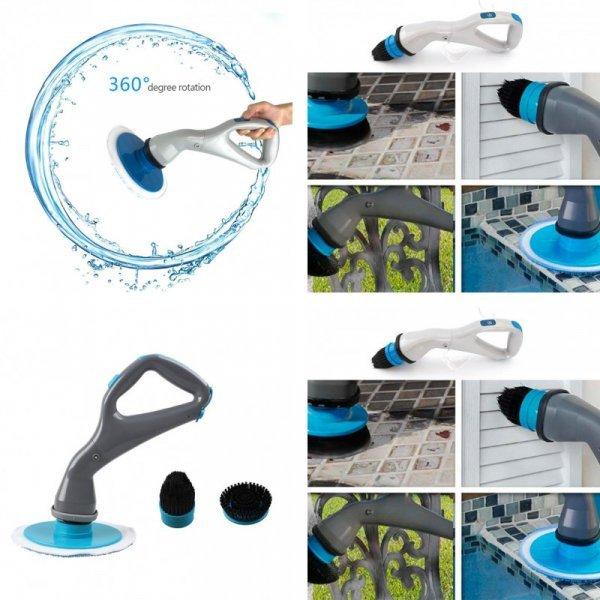 Электрическая щетка для чистки кафеля и сантехники SANGEMAMA