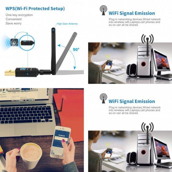 USB-адаптер с Wi-Fi от TEROW