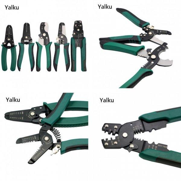 Плоскогубцы для обжима проводов Yalku