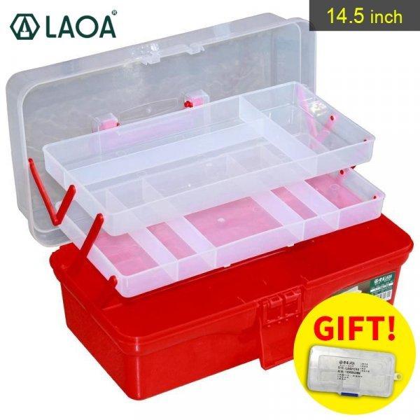 Раскладной ящик для инструментов LAOA (4 уровня, 2 цвета)