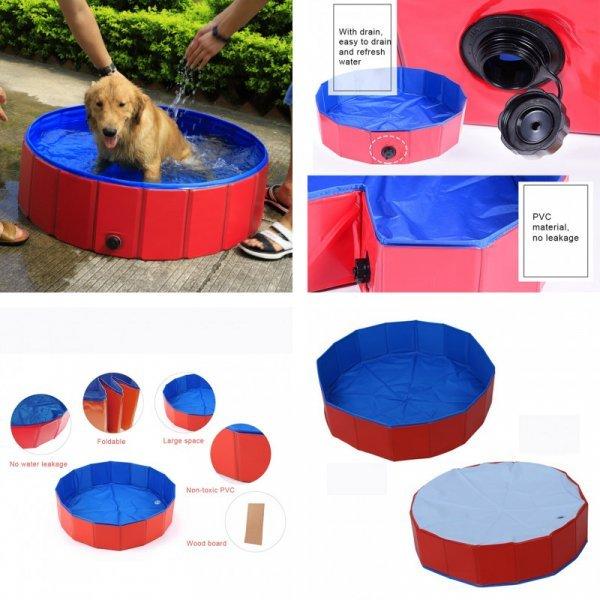 Складной бассейн для домашних питомцев и маленьких детей