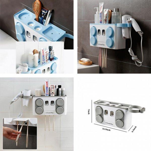 Семейный набор для хранения зубных щеток и многого другого