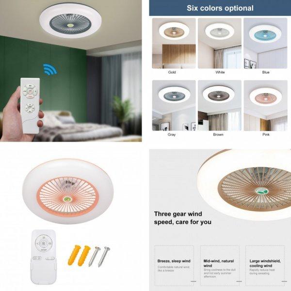Потолочный вентилятор-лампа