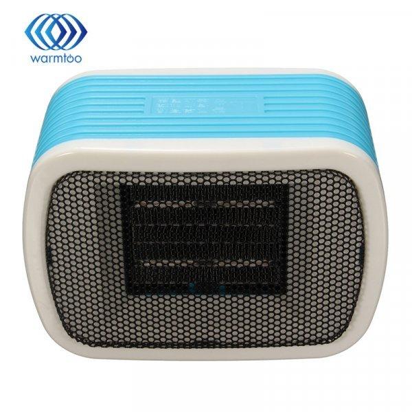 Компактный тепловентилятор Warmtoo 200 В 500 Вт (2 цвета, 155*105*80 мм, до 10 м.кв)