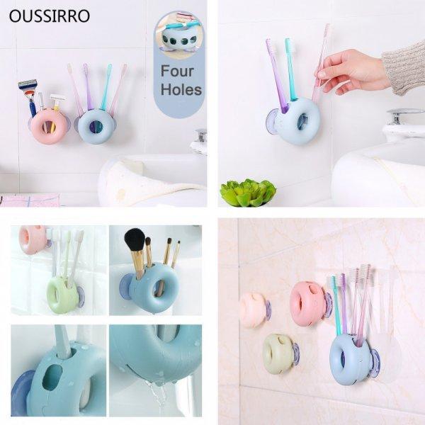 Универсальный держатель в ванную OUSSIRRO (4 в 1, 4 цвета)