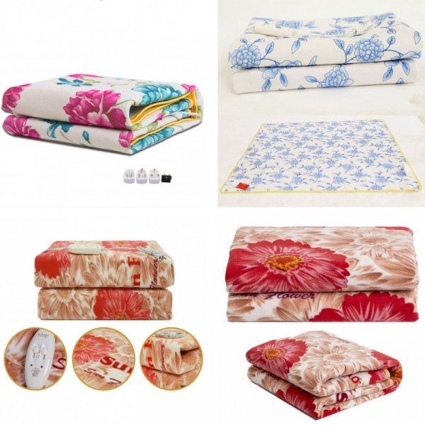 Электрическое одеяло  от QIUFENGCHENG (6 размеров, до 800 Вт)