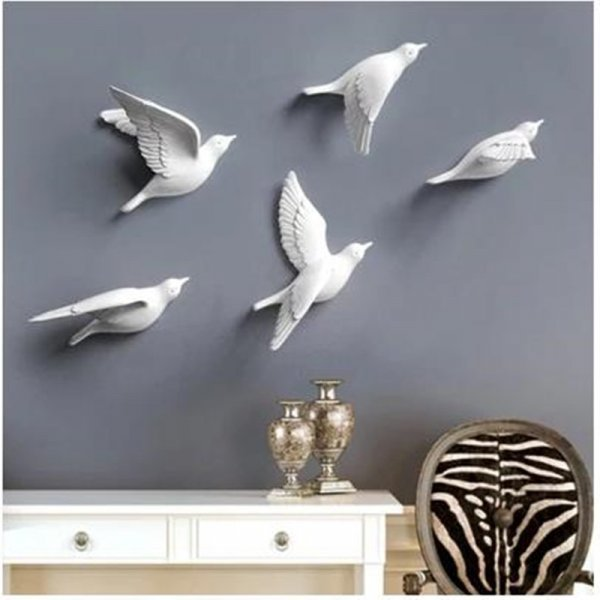 Минималистичные птички на стену Hopefully Good (4 цвета)