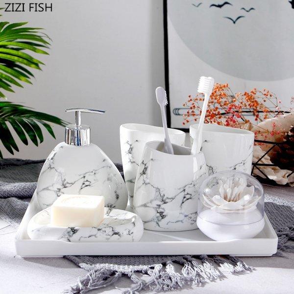 Керамический набор из 6 предметов от ZIZI FISH (4 цвета)