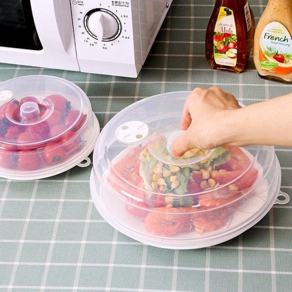 Колпак для разогрева еды в микроволновке