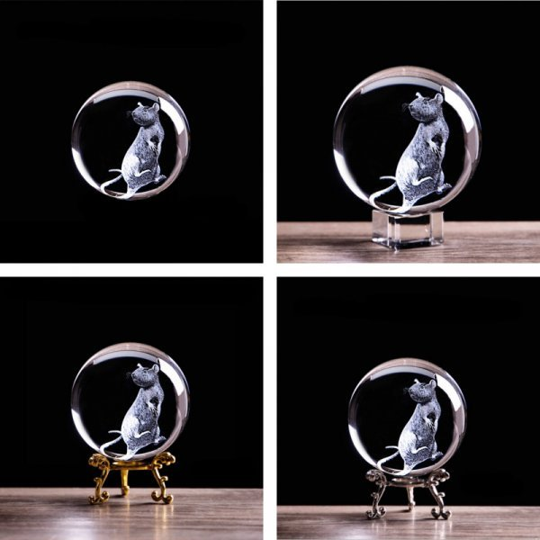 Хрустальный шар от XINTOU (4 вида, 2 размера)