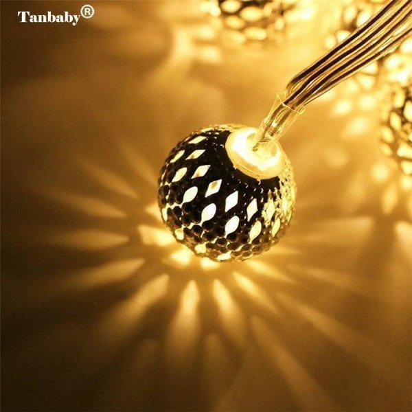Гирлянда Марокканский шар от TANBABY (доступно 3 цвета, 3 м)