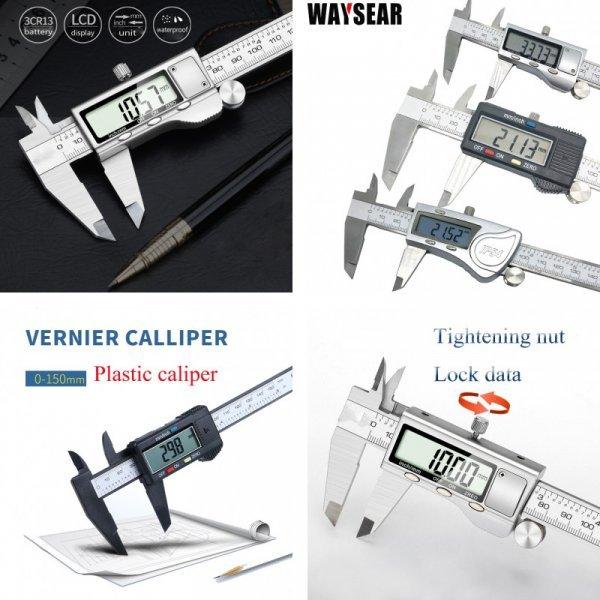 Цифровой штангенциркуль WAYSEAR (150 мм)