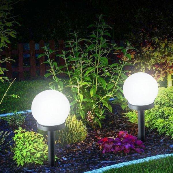 Газонные светильники на батареях  (солнеч., 6 шт)