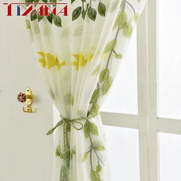 Воздушная занавеска на кухню Tiyana (9 размеров, 2 цвета)
