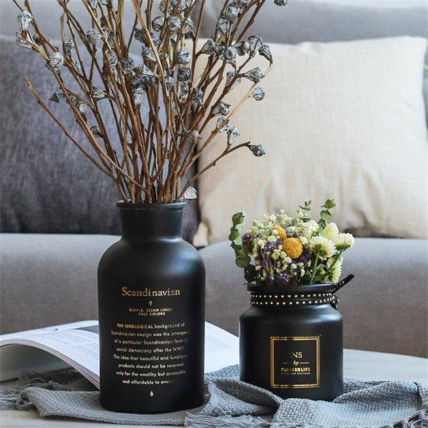 Лаконичные вазы (3 размера)