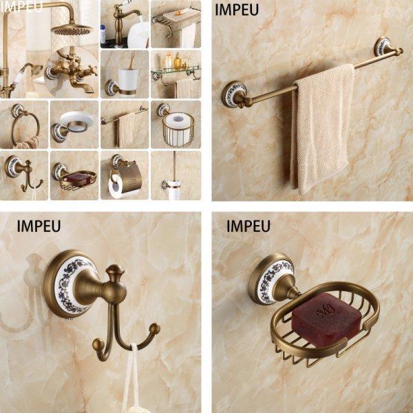 Античные аксессуары в ванную