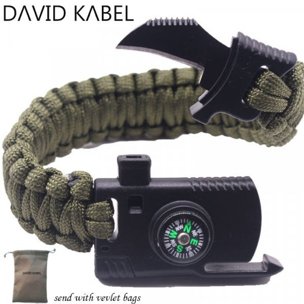 Стильный многофункциональный браслет 4 в 1 от DAVID KABEL