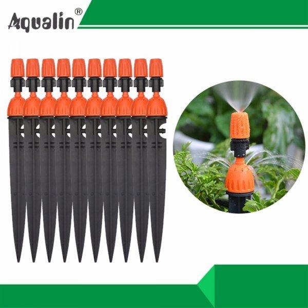 Многофункциональный набор для полива Aqualin (10 форсунок + шланг)