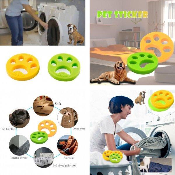 Приспособление для сбора шерсти домашних животных при стирке.