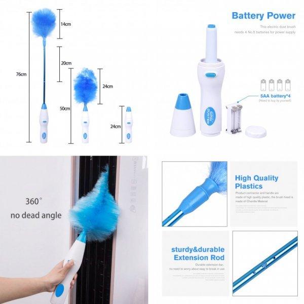 Автоматическая пуховая щетка для уборки пыли