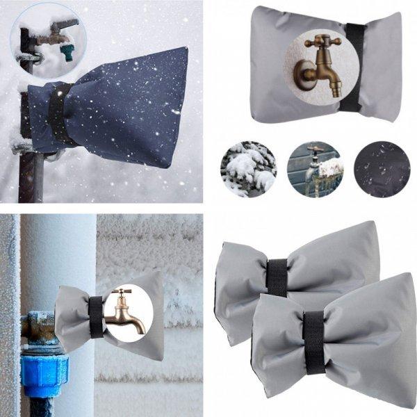 Водонепроницаемый мешок для защиты уличного смесителя