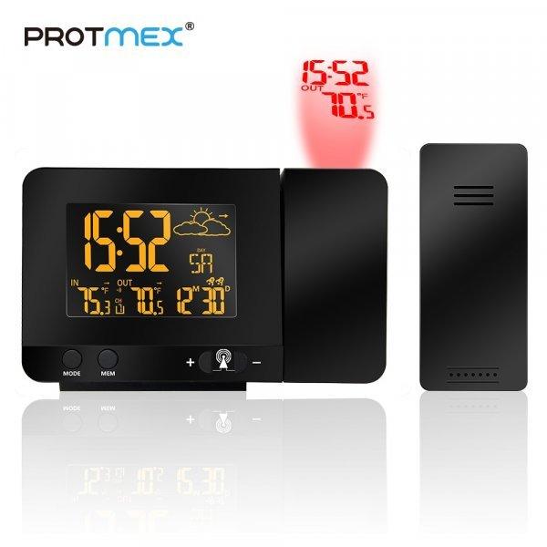 Метеостанция с проектором от PROTMEX