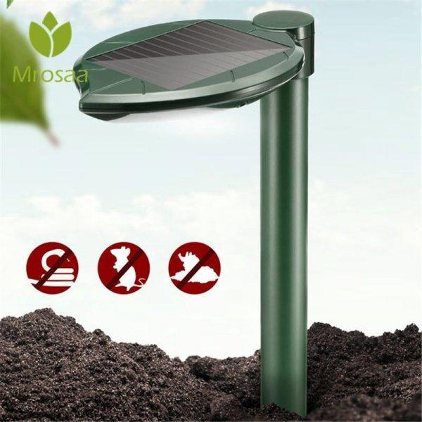 Отпугиватель грызунов и змей на солнечных батареях (200 м)