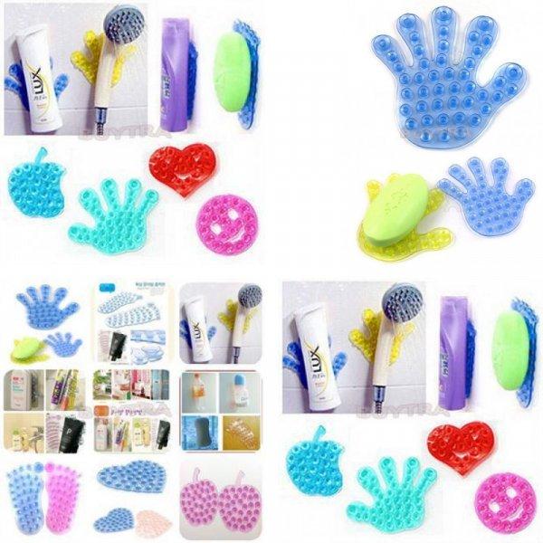 Волшебные пластиковые присоски для ванной комнаты от HELTC