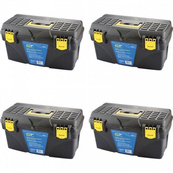 Шикарный ящик для инструментов - мета мастера СИБРТЕХ (пластик, 530*275*290 мм, до 80 кг)