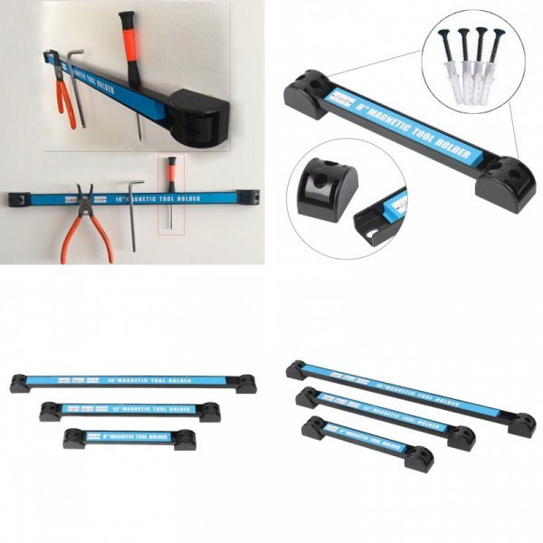 Магнитный держатель для инструментов на стену (3 размера)
