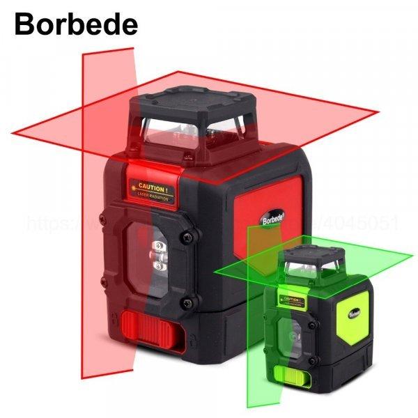 Лазерный нивелир Borbede (5 линий)