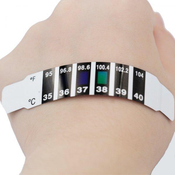 Набор полосок с термометром (10 шт)