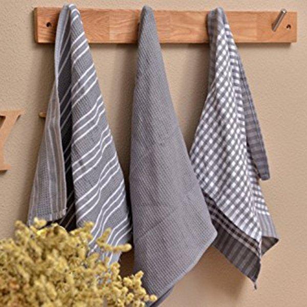 Классические хлопковые полотенца от IALJ (3 шт)