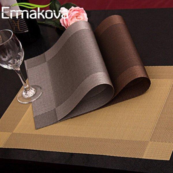Салфетка ERMAKOVA (4 цвета, 2, 4, 6 шт)