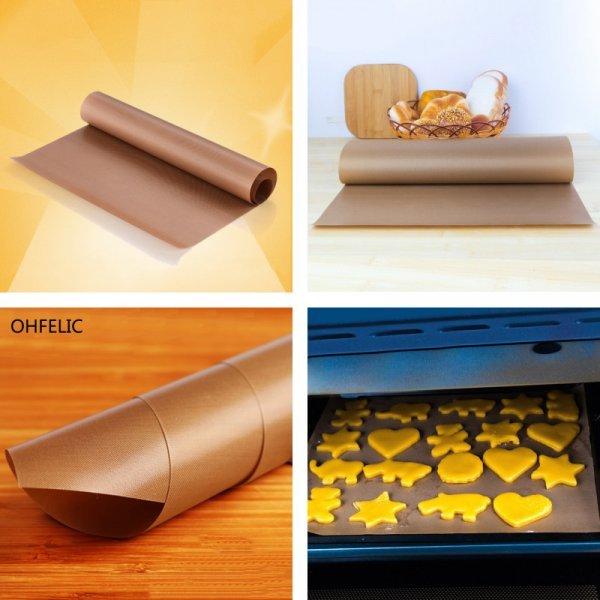Многоразовый термостойкий коврик от OHFELIC (2 размера, 2 цвета)
